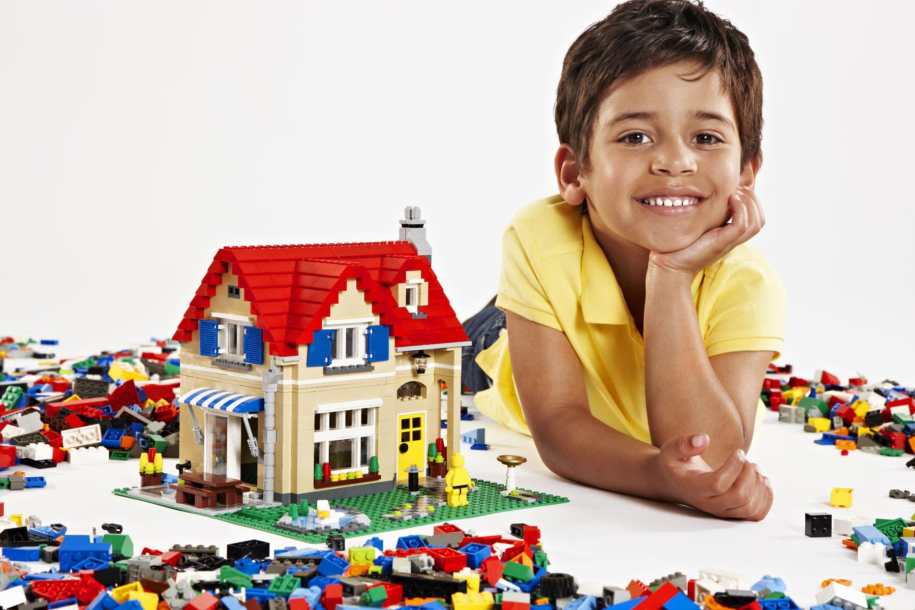 Lego bouwkamp