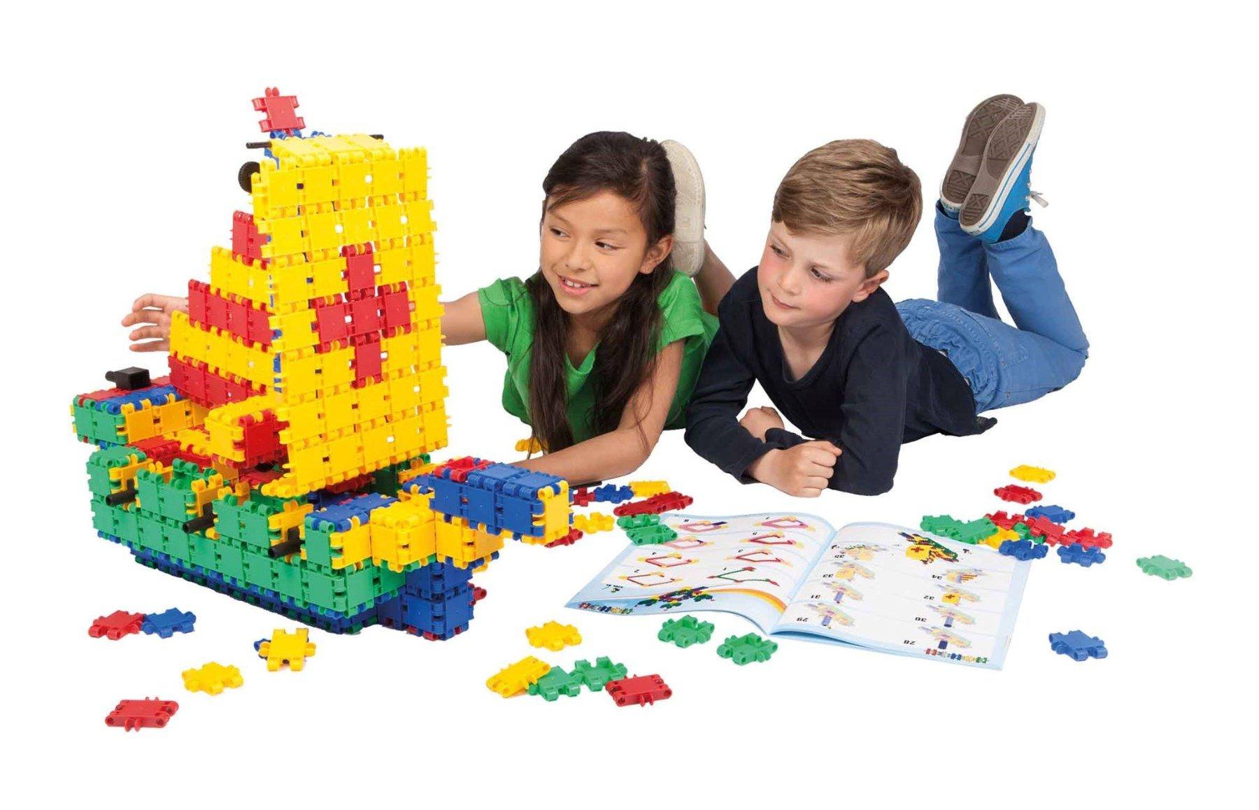 Clics en Lego bouwkamp